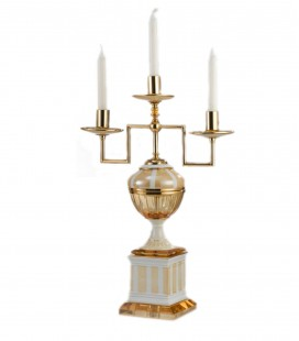 Imperial 3 Fires Candlestick