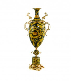 Golden Black Amphora